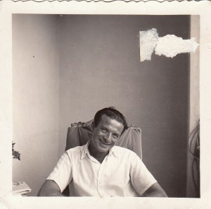 A photo Eliska took of my grandfather, in Rio de Janeiro, while they were engaged