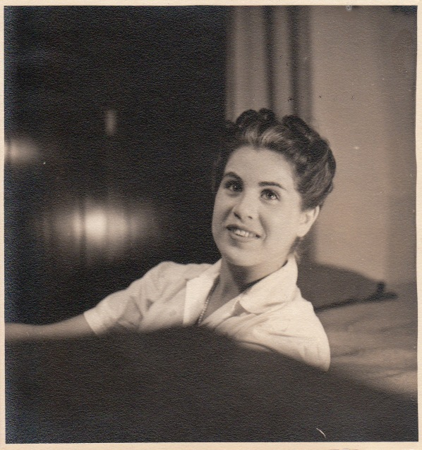 Eliska was 18 years old when she met my grandfather, in 1941