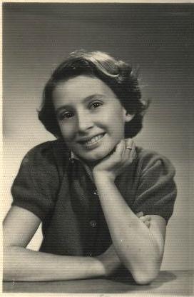 Felicia in Rio de Janeiro, 1950