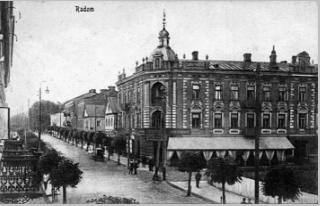 Famous coffee shop/restaurant in pre-war Radom